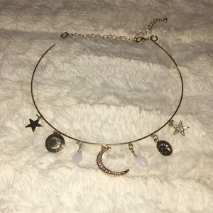 ✨Charlotte Russe Astronomical Choker✨